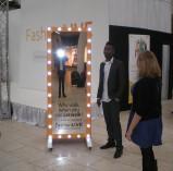 Freestanding custom Vanity Mirror