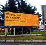 Large Format Banner Hoarding